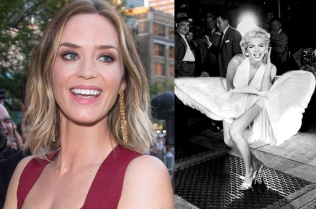 What Marilyn Monroe and Emily Blunt Have in Common