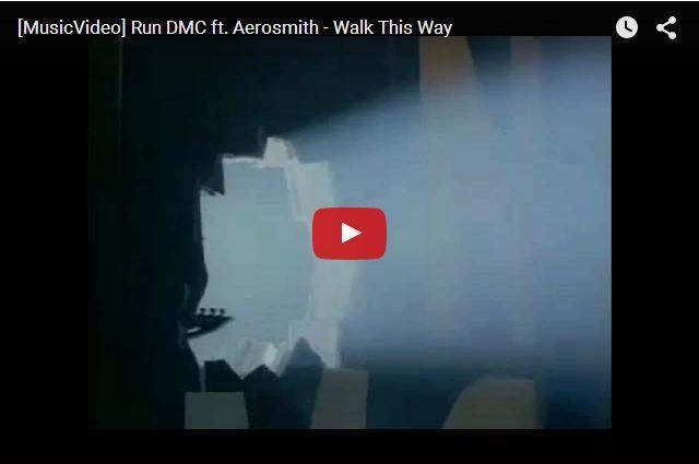 Run DMC & Aerosmith - Walk This Way