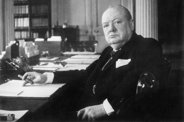 Winston Churchill - His Struggle With Public Speaking