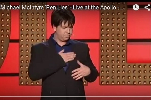 Michael McIntyre Pen Lies Screenshot