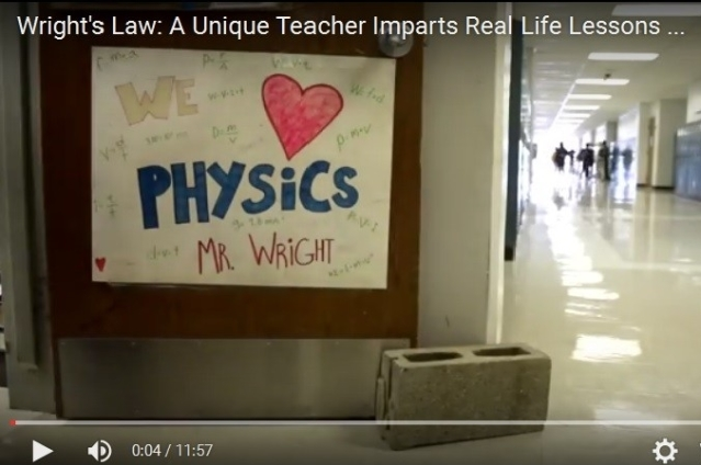 VIDEO - One of the Most Amazing Teachers You'll Find