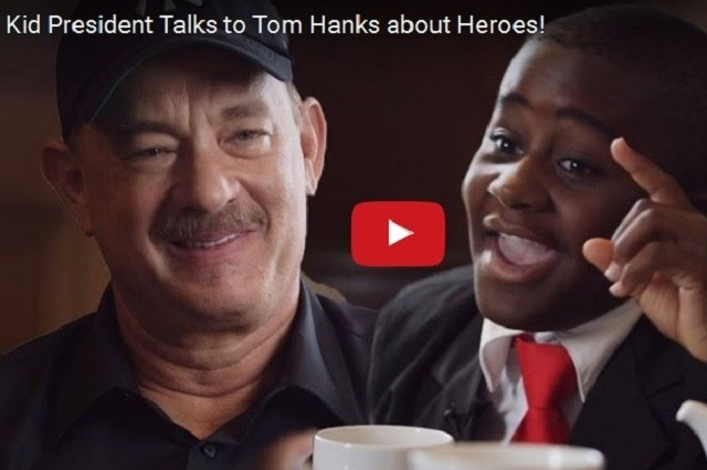 VIDEO - Tim Honks On What it Means to Be a Hero :)