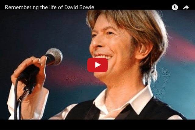 MUSICAL LEGEND - In Honour of David Bowie 1947 - 2016