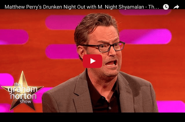 FUNNY – Matthew Perry's Networking Blunder