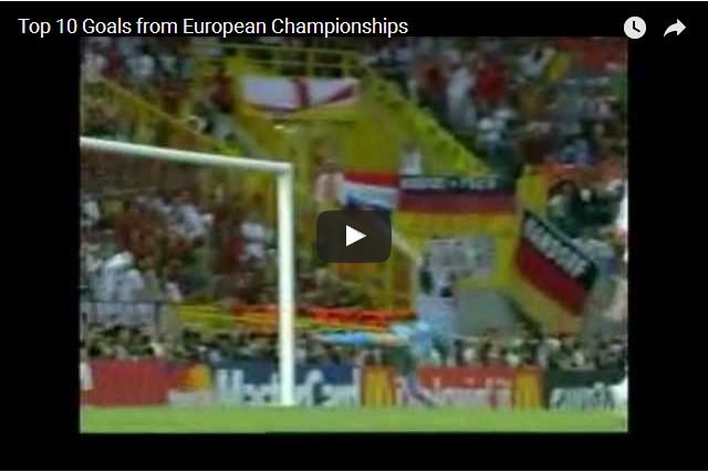 All Time Classic European Championship Goals!
