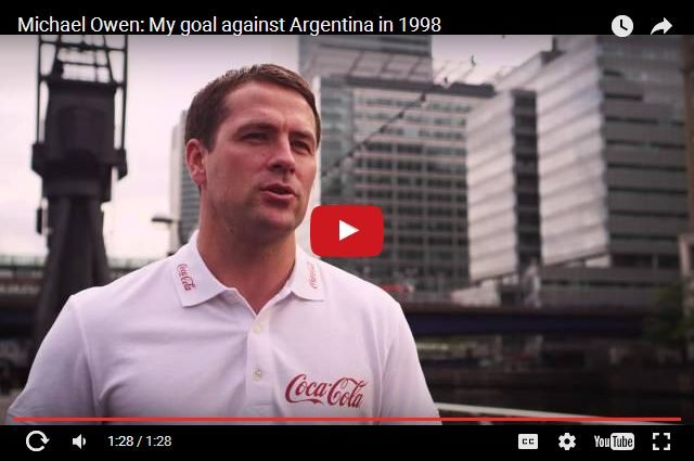 WATCH - Michael Owen On Having No Fear For His Most Famous Goal