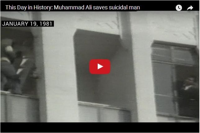 VIDEO - When Muhammad Ali Stopped a Suicide Attempt
