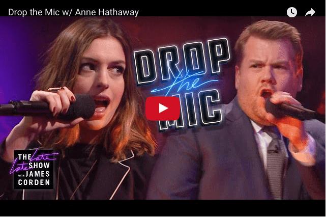 Rap Battle! - Anne Hathaway & James Corden Go Head to Head!
