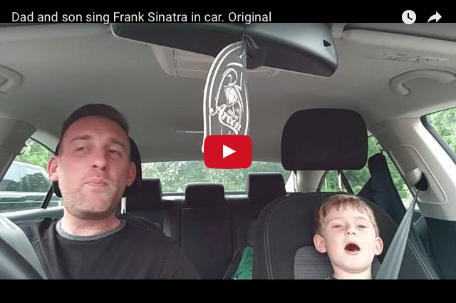 HEARTWARMING - Father & Son Sinatra Double Act is Lovely to Watch!