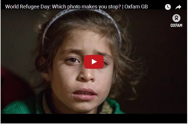 VIDEO - The Heartbreaking Stories Behind The Refugee Photos