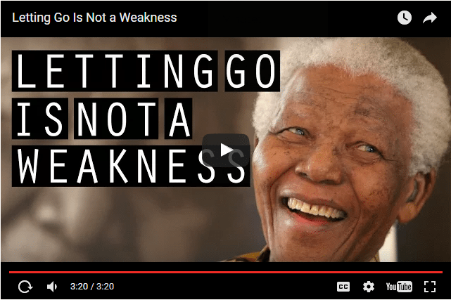 VIDEO - Nelson Mandela On The Incredible Strength of Forgiveness