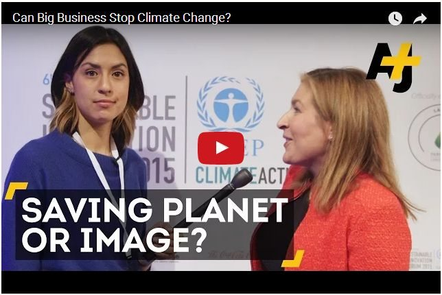 VIDEO - Can Big Business Stop Climate Change?