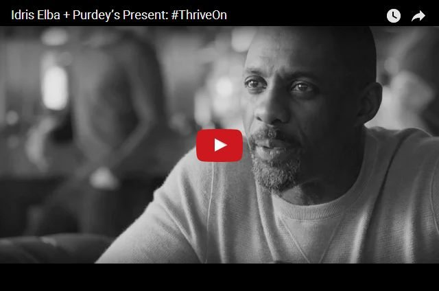 VIDEO - Idris Elba Challenges Adults To Dream Again