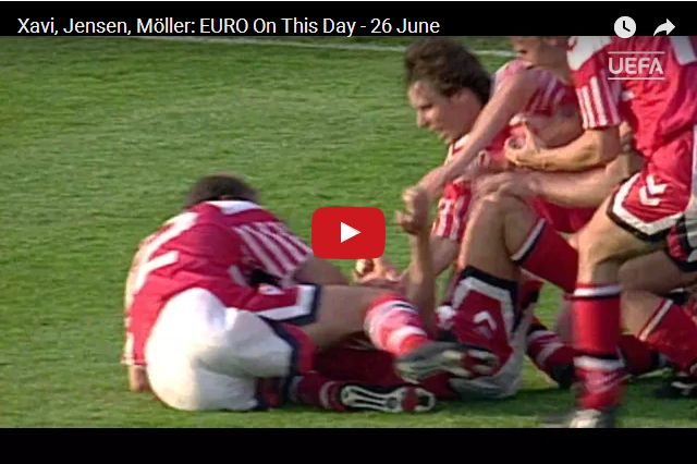 Inspirational Sporting Moments! - Denmark Upset Germany  - Euro 1992