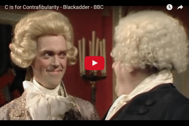 COMEDY - Blackadder Has a Way With Words