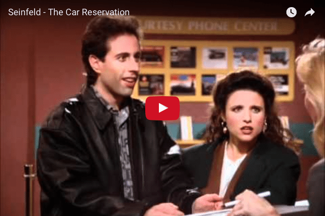 COMEDY - Seinfeld On How Not To Treat Your Customer...