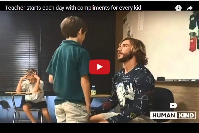 VIDEO - The Inspiring Teacher Who Starts Every Day With Compliments