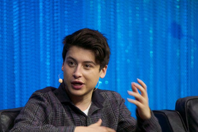 Nick D'Aloisio, Founder, Summly & Yahoo Product Manager on stage at LeWeb Paris 2013 @ Flickr