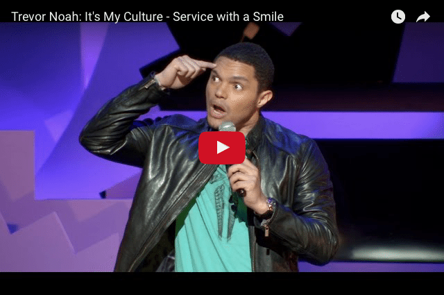 COMEDY: Trevor Noah - When Is It Time to Quit Your Job?