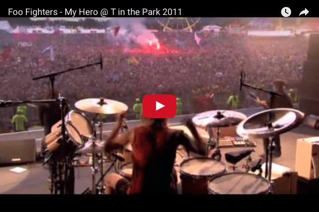INSPIRING MUSIC: Foo Fighters - My Hero LIVE