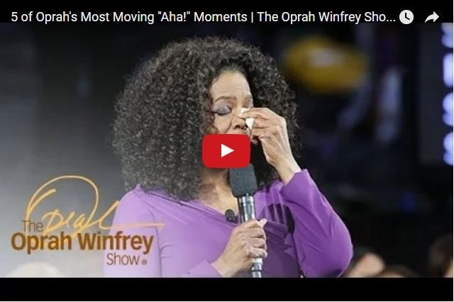 VIDEO - Oprah Winfrey's 5 Greatest Aha Moments! 2