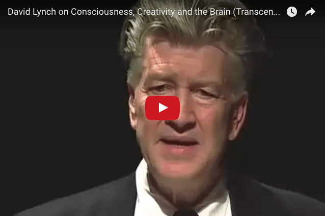 Filmmaker David Lynch On The Key To Creativity
