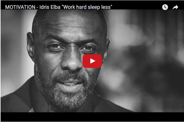 Idris Elba's Life Lessons - Don't Be Afraid To Fail!