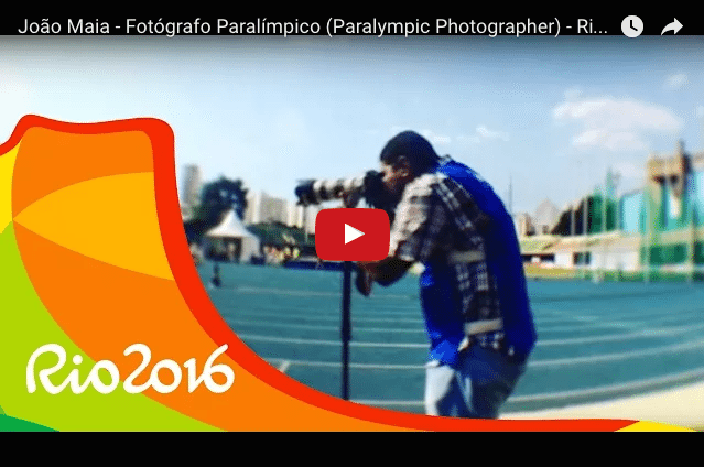 This'll Bring A Smile To Your Face - The Paralympic Photographer!