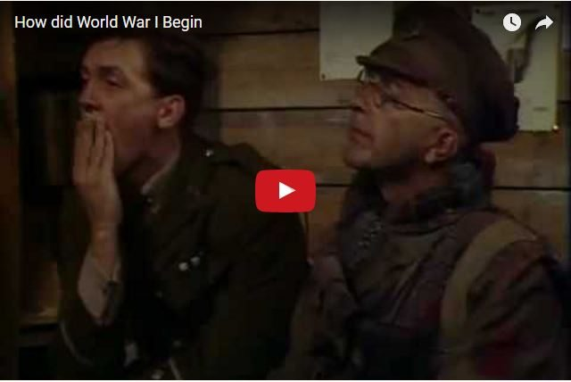 Brilliant Comedy! Blackadder - Why Are We Fighting Again?