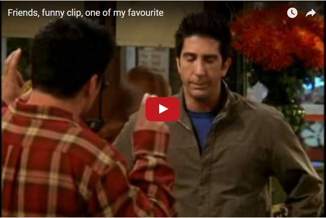 COMEDY: Friends - How Do You Mend a Broken Friendship?
