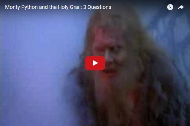 BRILLIANT COMEDY - Monty Python's Quest For The Holy Grail...