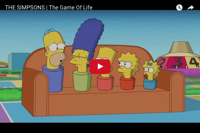 COMEDY - Is Your Life Like The Simpson's?