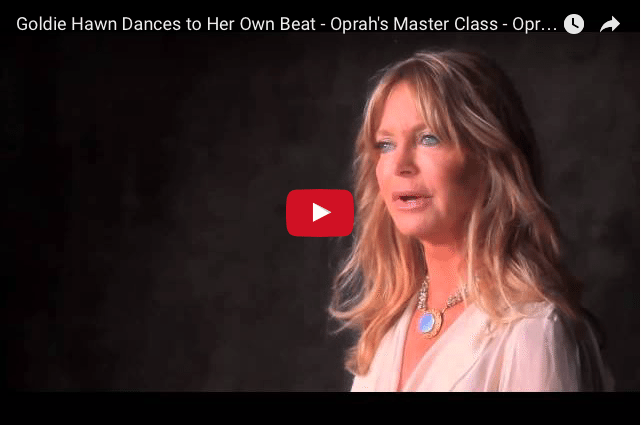 Goldie Hawn: Why You Shouldn't Worry About Being 'Perfect' 2
