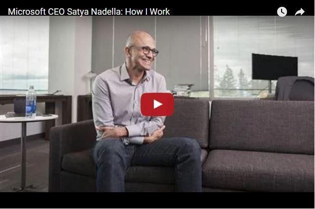 What Would You Ask Microsoft CEO Satya Nadella?
