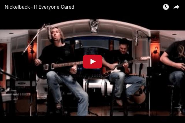 INSPIRING MUSIC: Nickelback - If Everyone Cared