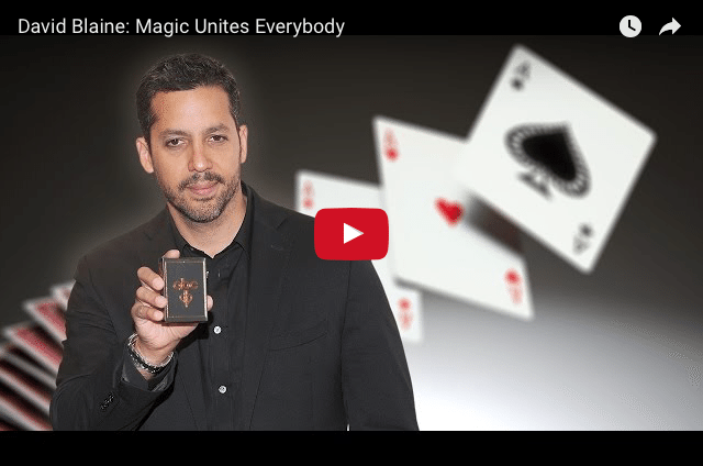 David Blaine - Why I Chose To Master Magic