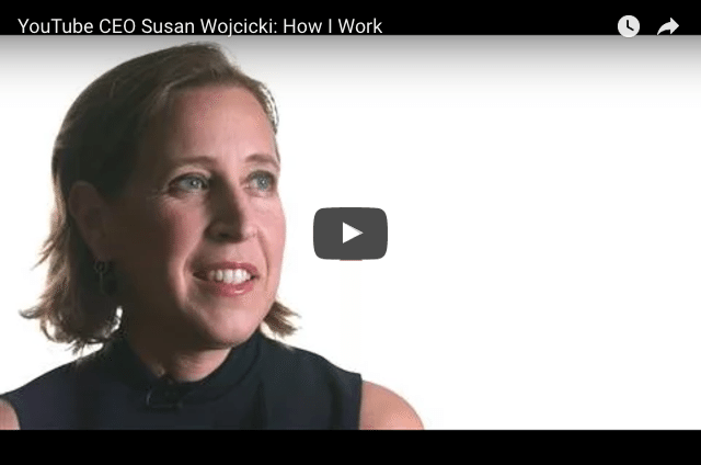 Work-Life Balance Tips From YouTube's CEO