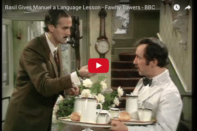 Fawlty Towers - Basil Gets Lost In Translation