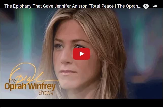 How Jennifer Aniston Found Peace In