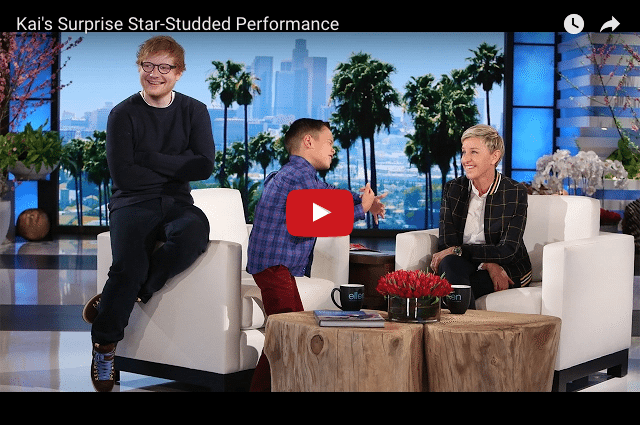 Watch Ellen DeGeneres Make This Boy's Dreams Come True!!