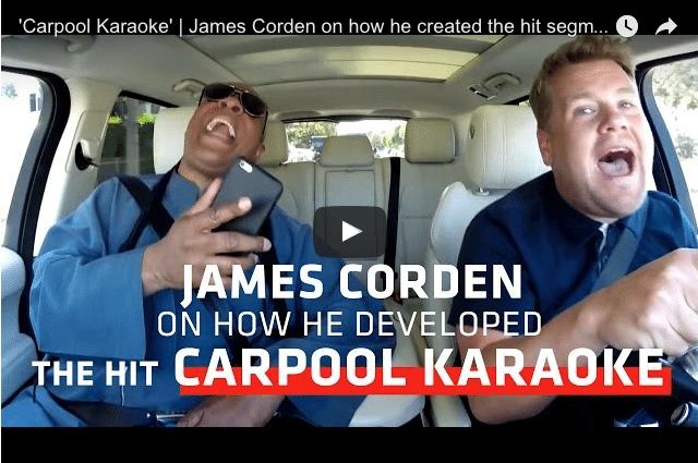 How Did James Corden Create The Hit Carpool Karaoke? 2