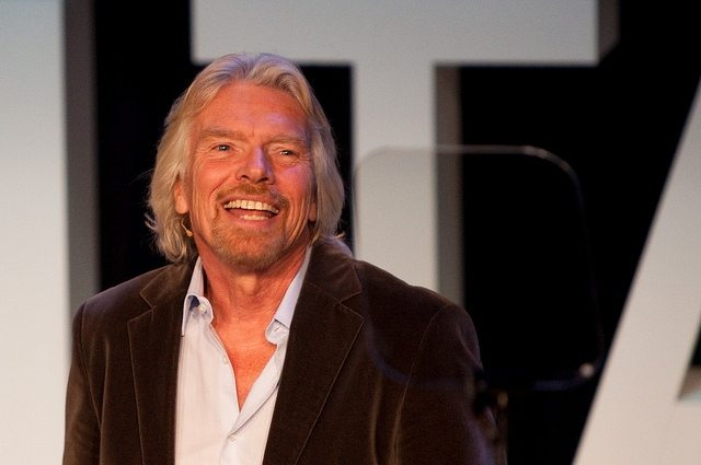 "TWEET - Richard Branson - ""You Can't Do it Alone"""
