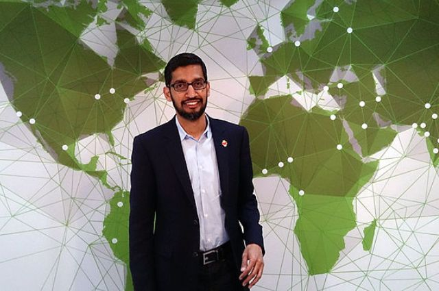 The Rags to Riches Rise of Google's CEO 1