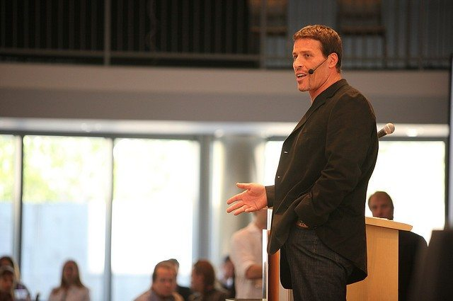 QUOTE - Tony Robbins On How to Save Yourself a Decade