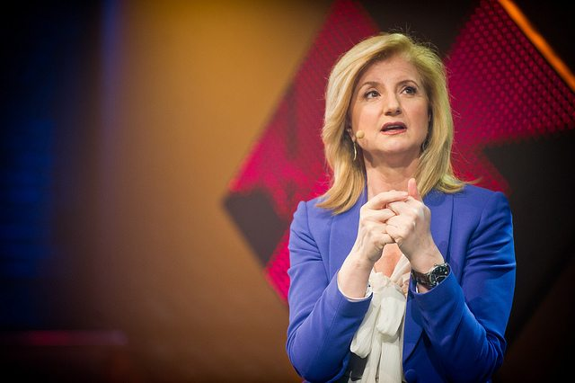 Arianna Huffington On Failure, Success & Going for Your Dreams