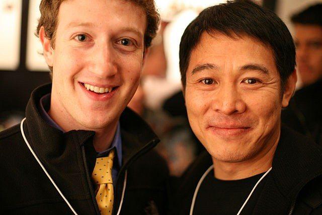 """Mark Zuckerberg, founder Facebook, and Jet Li"" by Robert Scoble"