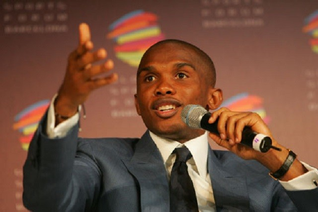 """Samuel Eto'o"" by Global Sports Forum / CC BY-ND 2.0"