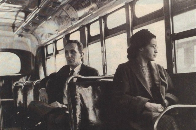 ROSA PARKS MONTGOMERY BUS BOYCOTT(1955) by Lauren @Picasaweb / CC BY-SA 3.0