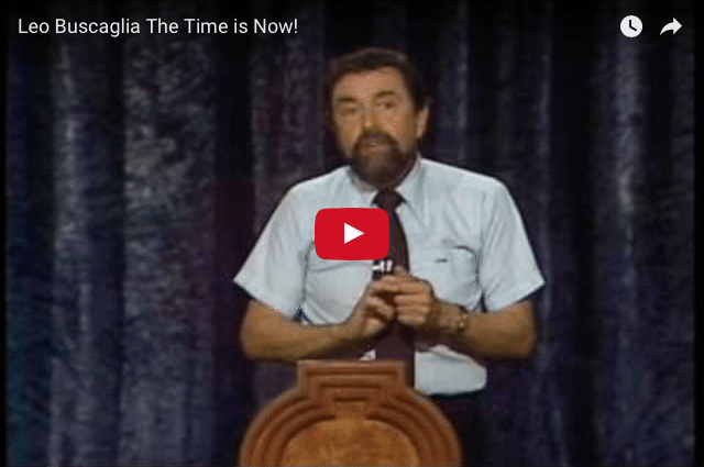 leo buscaglia on the art of A lecture by leo buscaglia that delves into the nature of being human, all the weirdness and wonderfulness that being human entails, and how we can bond and get along better by recognizing that humanness in ourselves and each other and laughing about it, together.