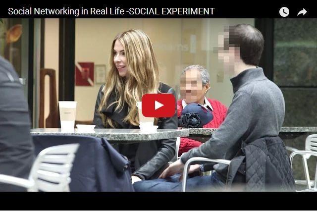 FUNNY - Social Media In Real Life?